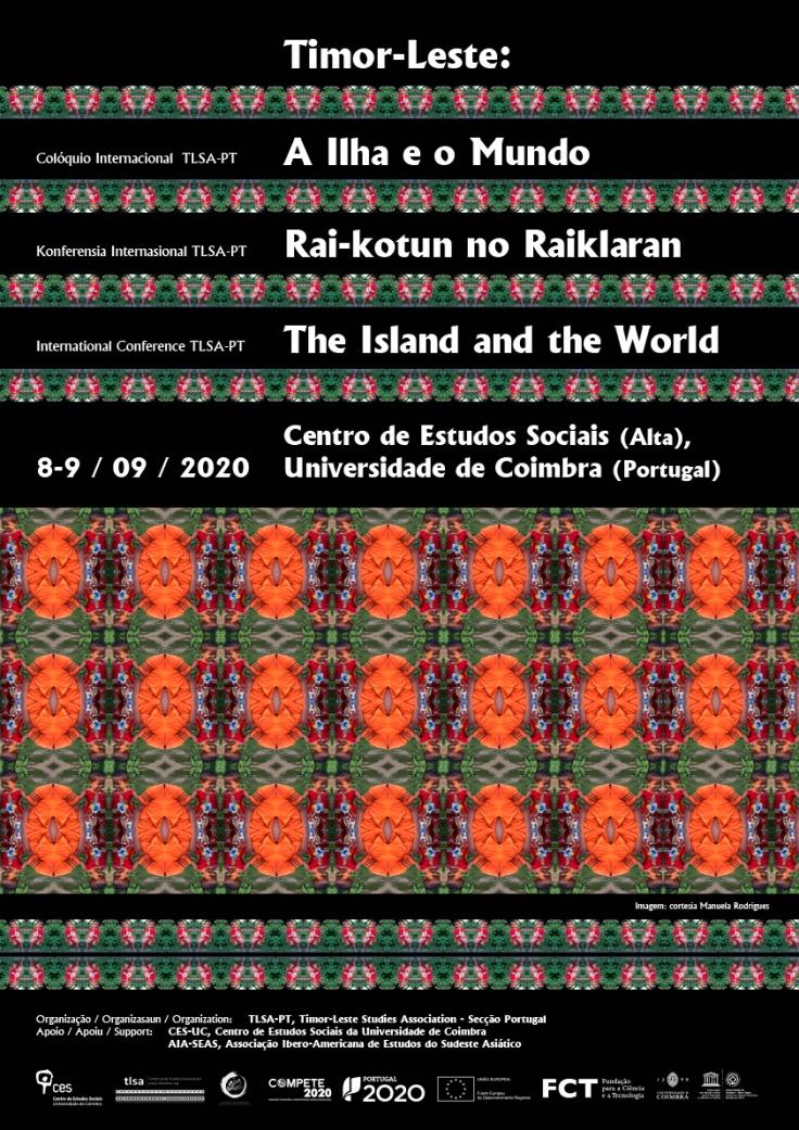 cartaz - A Ilha e o Mundo